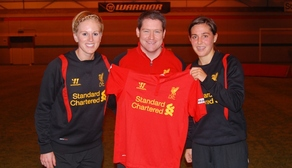 Ladies sign England duo