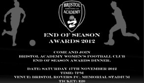 BAWFC Awards Evening