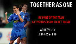 Season Tickets on Sale NOW