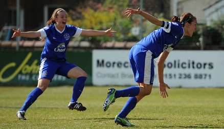 Skipper Jill Scott scores the winner against Chelsea.
