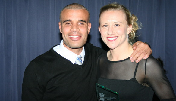 Laura Bassett Managers Player of the Season 2012