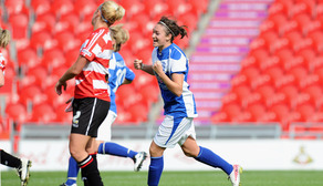 Blues Ladies up to Second