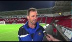 "Post Bristol | Buckley: ""The girls done well"" 08/09/2012"