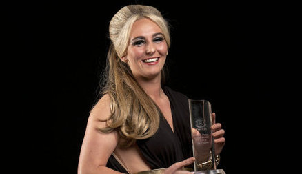 Toni Duggan named Ladies Player of the Year.