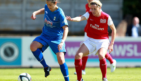 Kelly Smith back in action