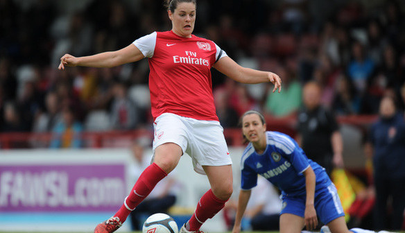 Jennifer Beattie against Chelsea