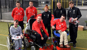 Harris attends LFC Foundation Camp