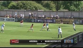 Arsenal v Manchester City 0-1