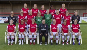 Arsenal Ladies 2012-13 Team Photo