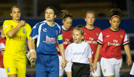 Arsenal Ladies v Blues Ladies