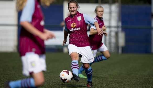 Katie Wilkinson looks to cause problems against Yeovil