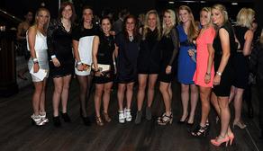 Ladies attend ONII premiere