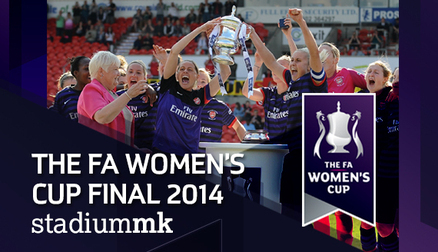 FA Youth Cup final takes place the same day as the Women's FA Final at MK Dons