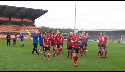 Highlights from the 9-0 win over London Bees in the final game of that season that saw the Belles finish 2 points behind the league league leaders, Sunderland.