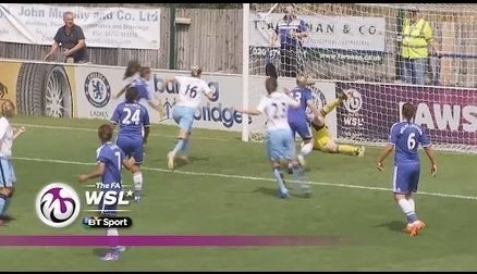 Chelsea Ladies kept the pressure on Birmingham following their 2-1 fit back against Man City