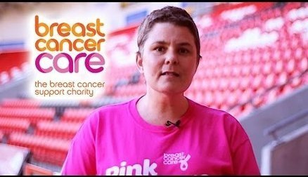 This month is Breast Cancer Awareness month, so at Doncaster Rovers Belles we decided to mark our last home game of the season by showing our support to FA's official charity partner for 2014-2016, Breast Cancer Care. A charity who help support people fighting breast Cancer and their families.