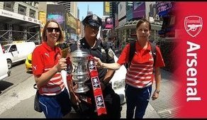 FA Women's Cup visit New York