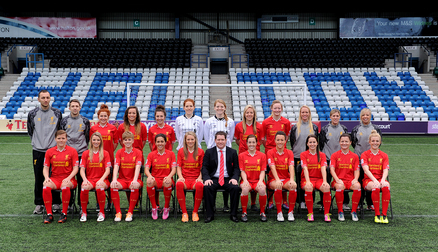 Liverpool Ladies team photo 2014