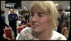 Ashleigh Mills At Doncaster Free Press Sports Awards
