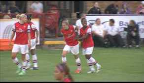 Conti-Cup Semi-Final: Arsenal Ladies 4-0 Everton Ladies highlights