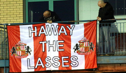 SAFC Ladies Supporters