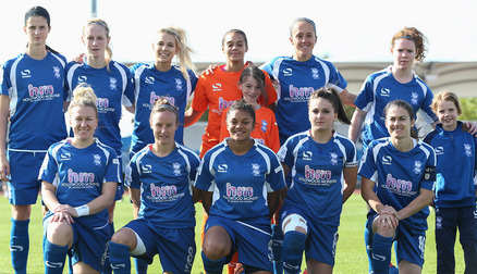 Blues Ladies ahead of the Manchester City Women fixture.