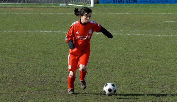 Caz on the ball