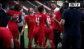 Liverpool are Champions! Gemma Bonner, Fara Williams & Amanda Da Costa interviews after the match