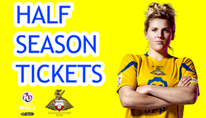 Half-Season Tickets on Sale!