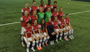 Arsenal Ladies 2014 Squad