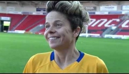 Sue Smith spoke to Belles TV after the 2-0 win over Yeovil Town Ladies FC, making sure that the FA WSL 2 title race goes right down to the wire.