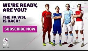 FAWSL ON YOUTUBE Subscription