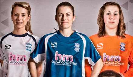 Birmingham City Ladies' 2014 kits