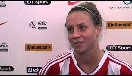 Sophie Williams' post match interview after 4-0 win over Millwall