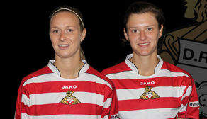 Belles Sign Blackburn Duo