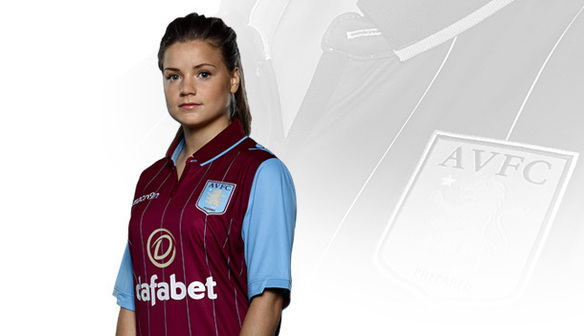 Starlet Livy Fergusson in the new home kit