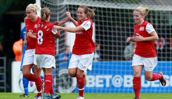 Gemma Davison Scores Arsenal's first