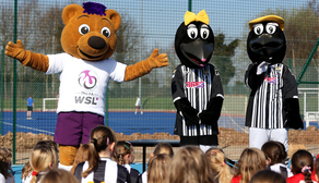 Berry the Bear, Mr Magpie and Mrs Magpie