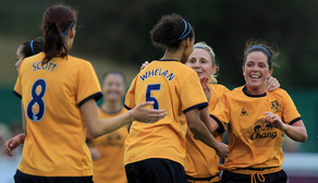 Aug 13 Bristol Academy Women 0 Everton Ladies 2