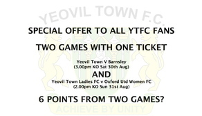 SPECIAL OFFER TO YTFC FANS