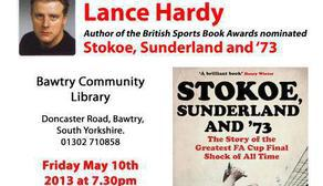 Lance Hardy @ Bawtry Library 10 May