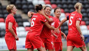 Bronze nets as England score ten