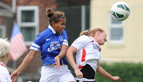 Nikita Parris heads the winner against Lincoln