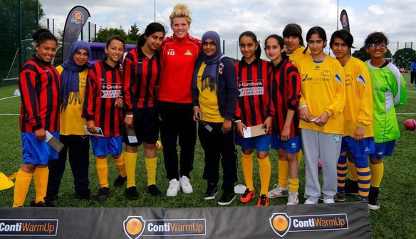 #10  Millie Bright at the Leeds Girls football festival 3 July 2013