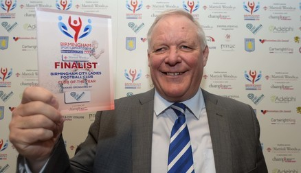 Steve Shipway with the club's commendation