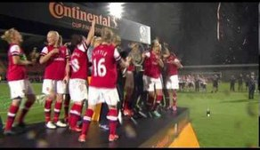 Arsenal vs Lincoln 2-0, Continental Cup Final