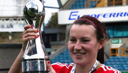 Steph Bannon and WSL2 Trophy