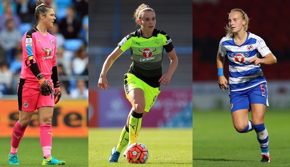 Earps, Bruton & Bartrip called up to England Next Gen Camp