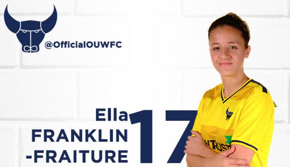 Ella signs for the new season