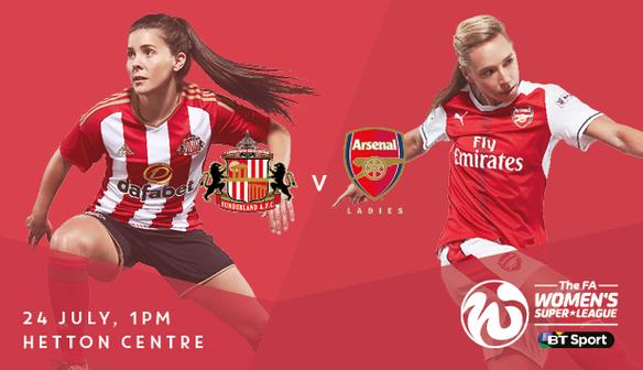 SAFC Ladies 0 Arsenal Ladies 4